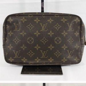 Authentic Louis Vuitton trousse toiletry bag